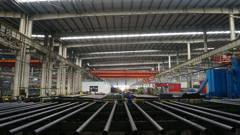 casing pipe thread machining production