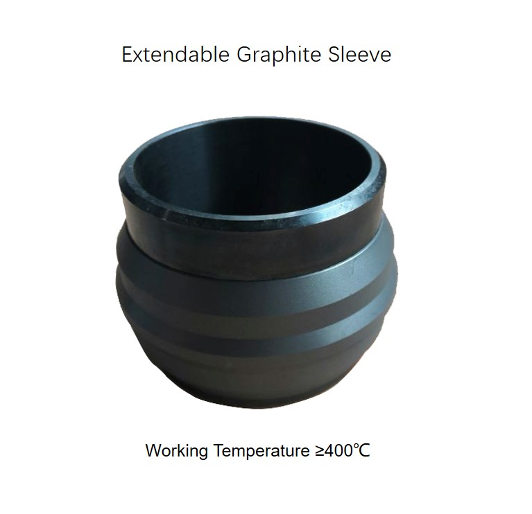 hunting vacuum insulated tubing extendable graphite sleeve