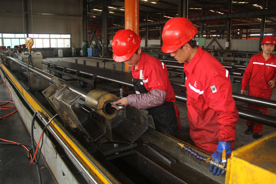 precision rolling pipe fine honing factory