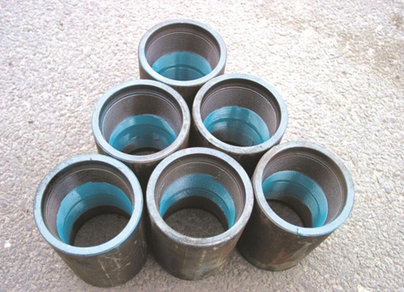 bottom powder coated coupling