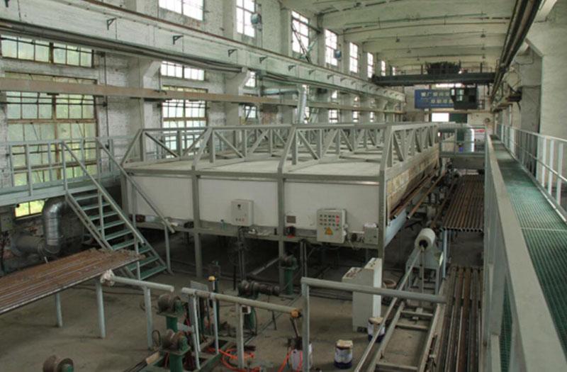 internal spraying production line